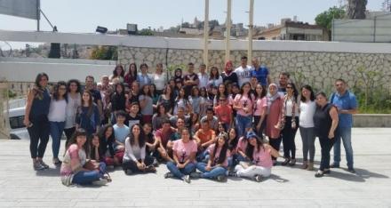 نساء ضد العنف تعقد لقاء قُطري اختتامي لمجموعات القيادة الشابة