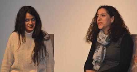 """امسية الخاصة لتكريم الفنانتين ربى بلال ولميس عمار وعرض الفيلم """"عاصفة رملية"""""""