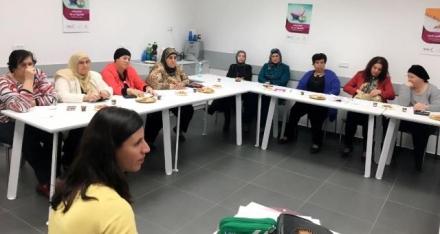 لقاء المجموعة الداعمة للنساء القياديات ضمن حملة اعرفها في سخنين