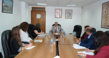 Women Against Violence Staff Meets with the Undersecretary of the Ministry of Women