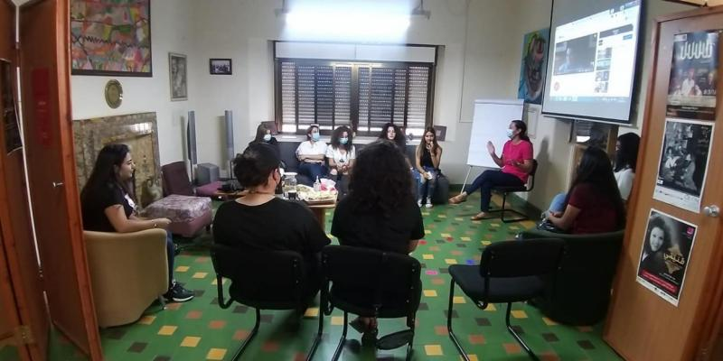 اللقاء الأول لمجموعة القيادة الشبابية #مجتمعin