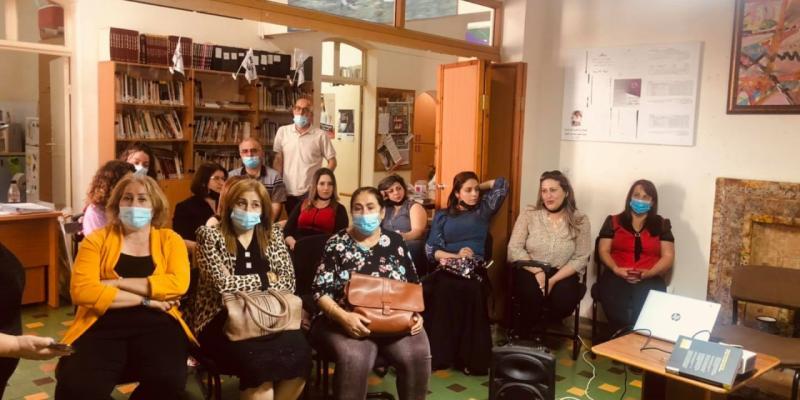 زيارة نساء جولانيات من خمس قرى الجولان  بمبادرة جمعية آرام لتطوير وتنمية الاسرة
